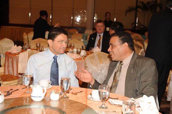 Dr. Ali Qassem with His Excellency Dr. Taleb Rifai - Secretary-General of the World Tourism Organization